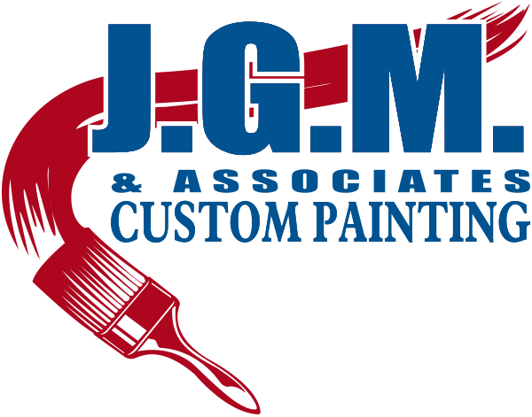 jgm and associates custom painting logo